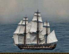 Atacat pe mare