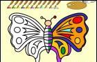 Coloreaza Fluturele