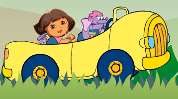 Dora in Safari