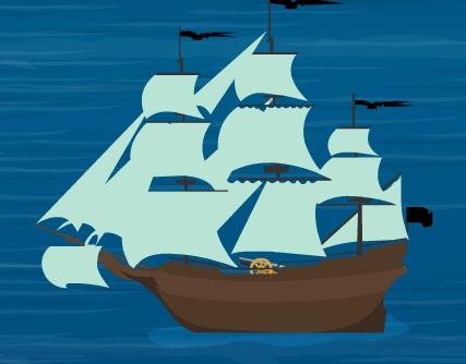 Piratii in Caraibe