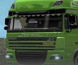 Puzzle cu Camioane